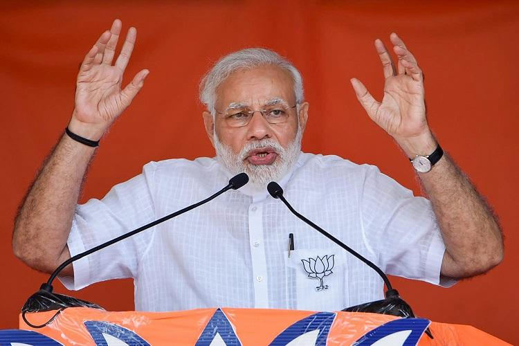 Modi attacks Cong says Indira never returned to Karnataka after winning from there