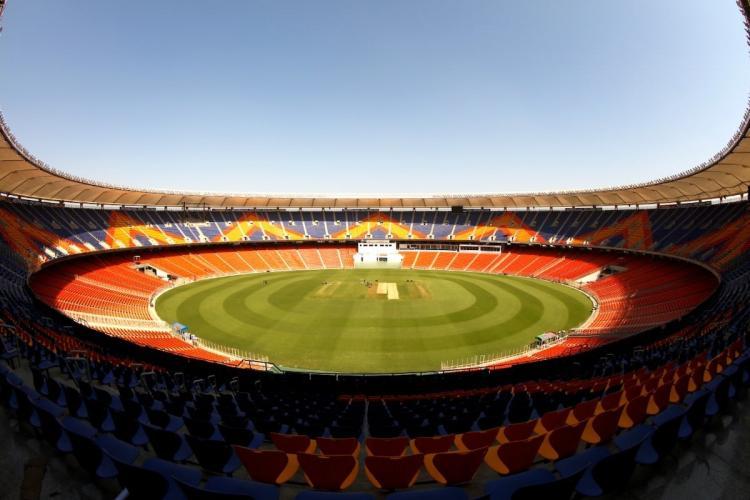 Narendra Modi stadium in Ahmedabad