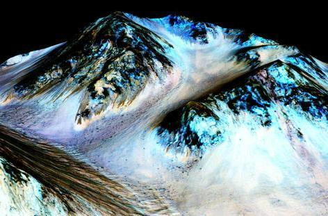 How evidence of flowing water on Mars raises new hopes of finding life