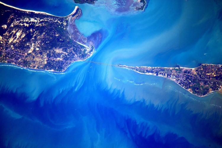 NASA astronaut posts stunning pictures of south India from space