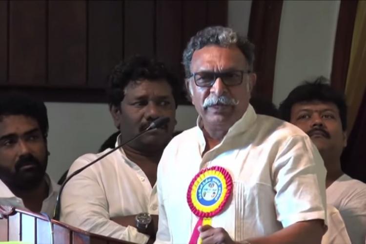 Exclusive- Nasser Not splitting Nadigar Sangam but Sarath Kumar inactive Radharavi abusive