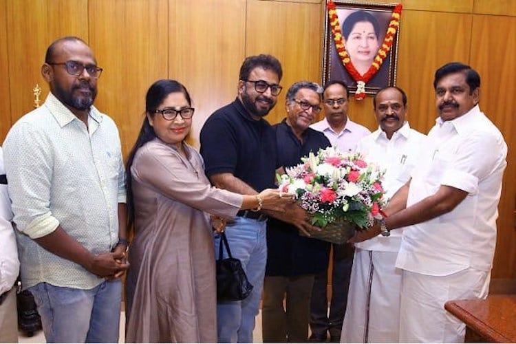 TN actors body meets CM Edappadi Palaniswami puts forth a set of demands