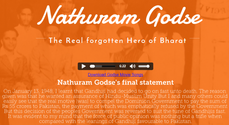 Hindu Mahasabha commemorates Godses death anniversary as Balidan Divas launches website
