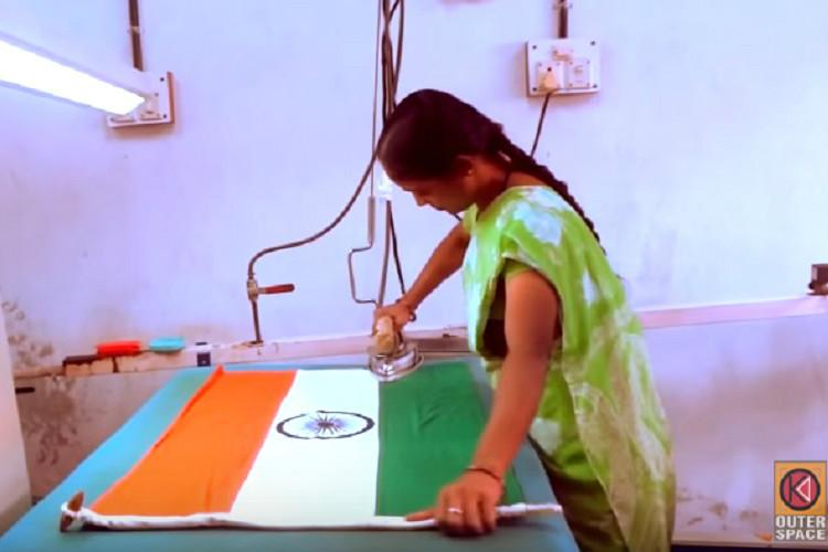 7 interesting facts about the only licensed manufacturer of national flags in India
