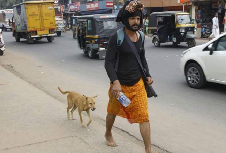 Heartwarming story of a dog who walked 600km to keep a Sabarimala pilgrim company