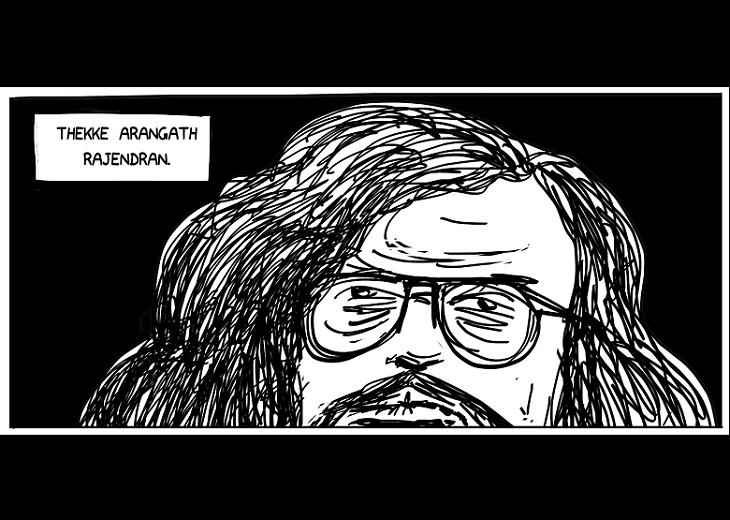 Remembering Nawab Rajendran The activists life through illustrations of a Kerala cartoonist