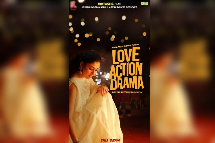 Nayantharas character poster in Love Action Drama unveiled