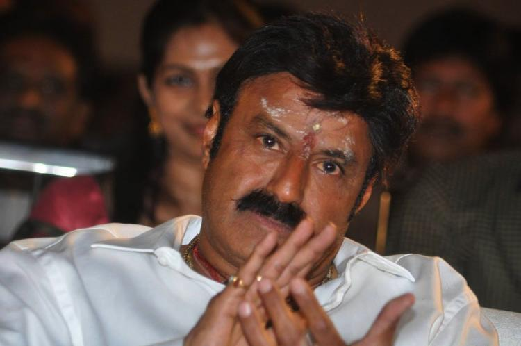 Actor-politician Balakrishna slaps a journalist Will he ever stop misbehaving