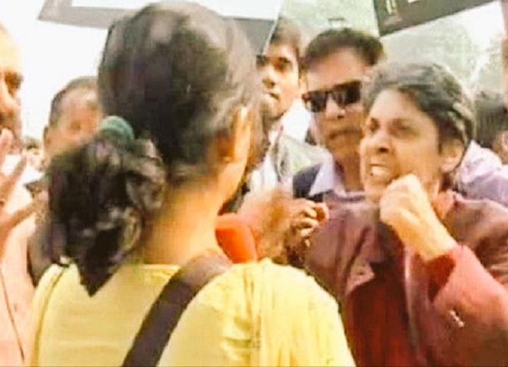 NDTV reporter heckled alleges abuse at March for India online mudslinging begins
