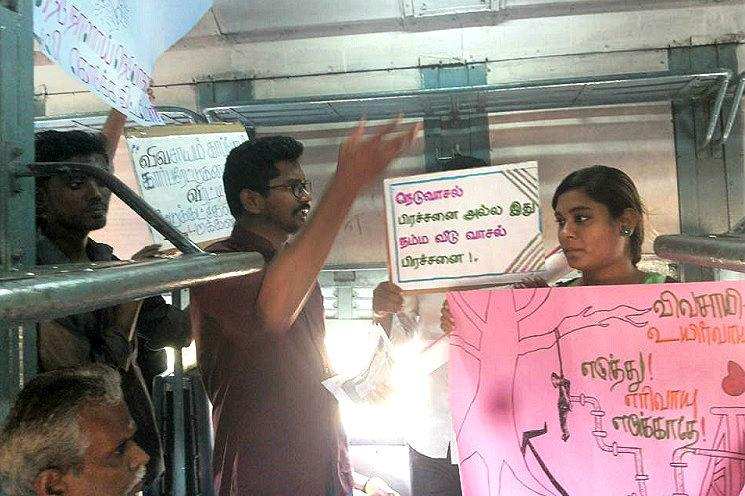 Neduvasal women protesters accuse TN police of stripping them in Trichy jail