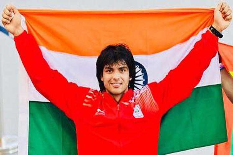 Javelin thrower Neeraj Chopra to be Indias flag-bearer at Asiad