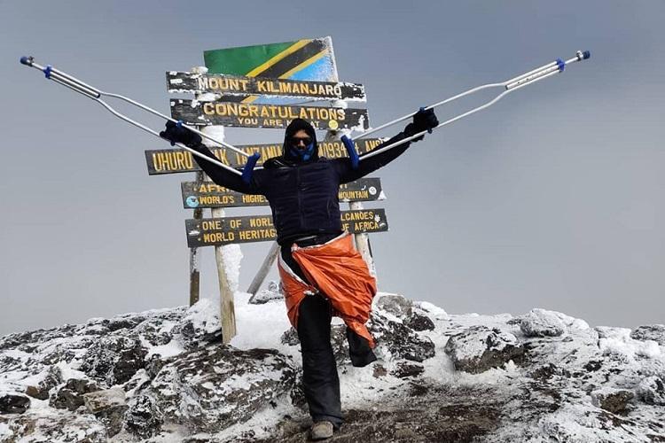 Kerala man who climbed Mount Kilimanjaro on crutches says no to prosthetic leg