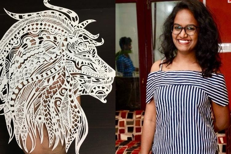 Meet Neetu the Hyderabad woman whose intricate paper cutting art is a hit on Instagram