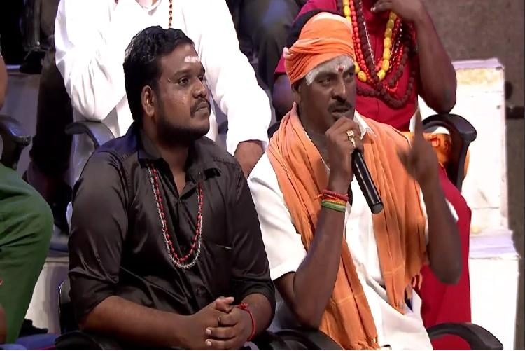 A Tamil TV debate on ghosts and witchcraft is cracking people up but is equally disturbing