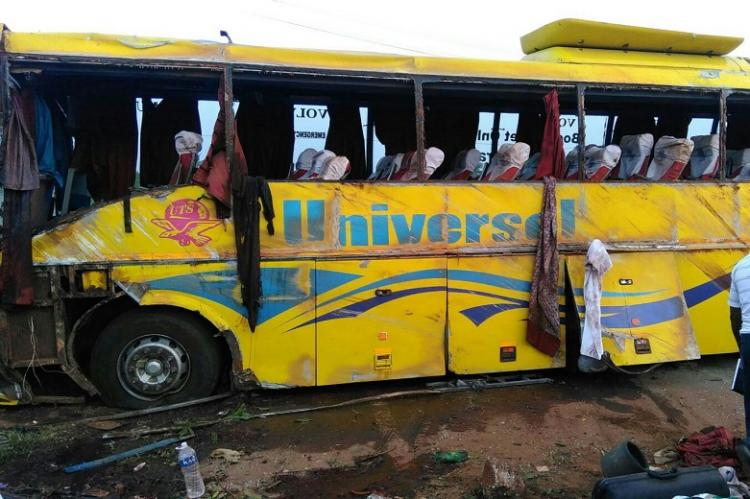 Several dead as bus capsizes on a highway in Tirunelveli drivers negligence suspected