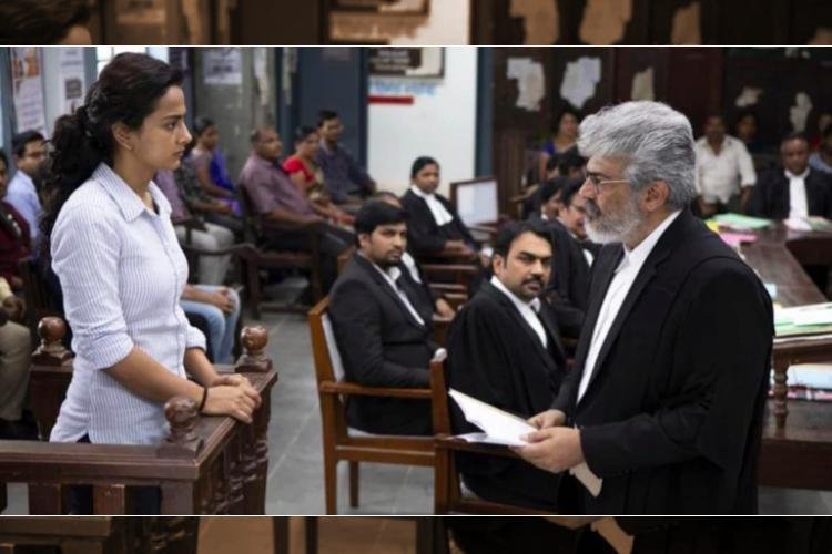 Nerkonda Paarvai review Ajiths courtroom drama is a film that needed to be made