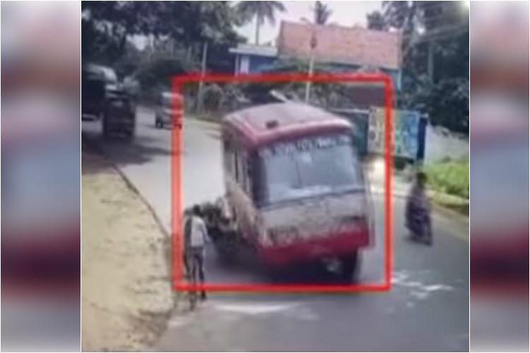 Another killer bus CCTV footage shows KSRTC mowing down biker in Mysuru
