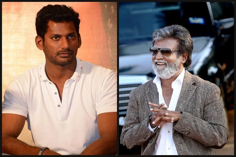 Rajinikanth congratulates Vishal for win in TN film producers council elections