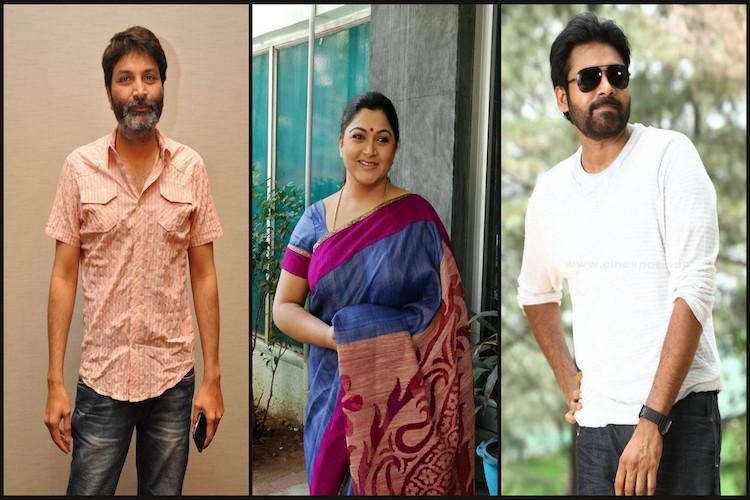 Kushboo feels like first day in school on the sets of Pawan Kalyan film