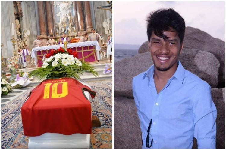 Italian football player Totti pays tribute to Malayali fan who died in car crash