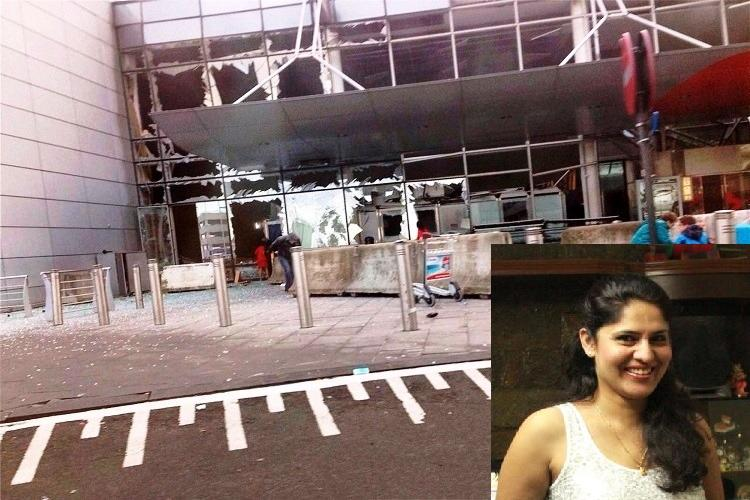 How image of an Indian woman wounded in Brussels blasts has started a debate on journalism
