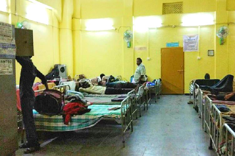 Only 12 night shelters for 1500 people Hyderabads homeless forced to sleep on the road