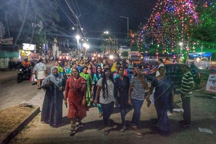 Kerala women take to the streets on night of Nirbhayas 7th death anniversary