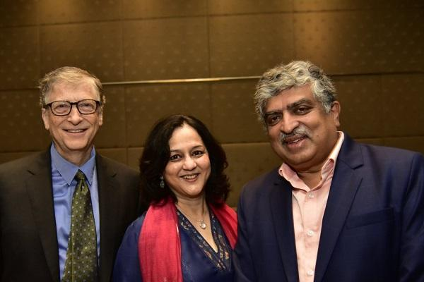 Nandan Nilekani and wife sign Giving Pledge to donate half their wealth to philanthropy