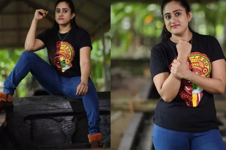 Nimisha Bijo controversial photos she pasted in instagram