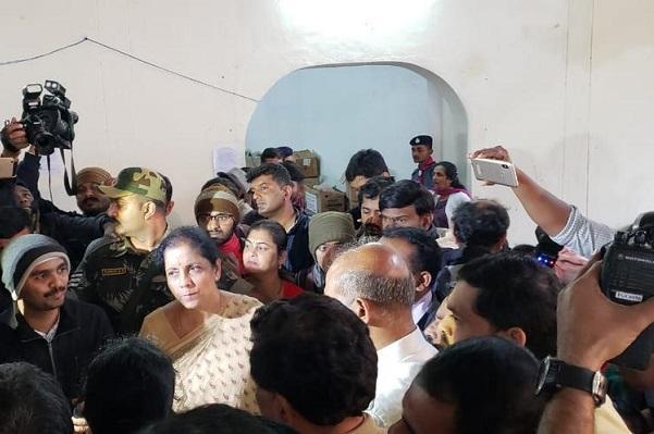 Def Min Sitharaman visits flood-hit Kodagu promises Army help