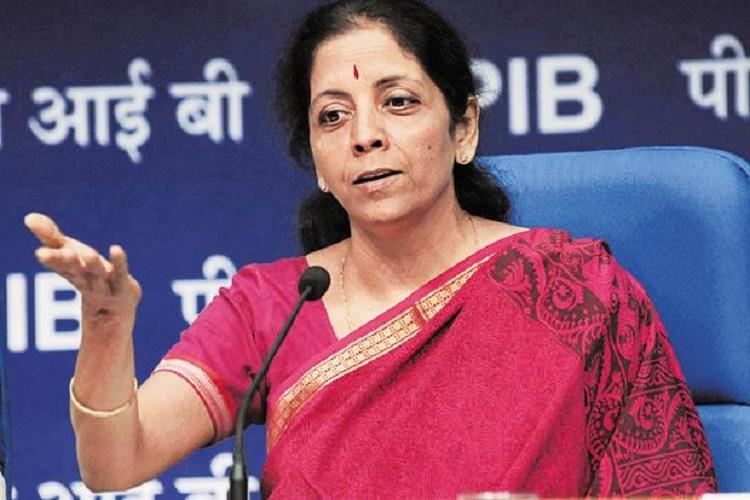 Indian economy grew 71 in first half of fiscal Minister Nirmala Sitharaman