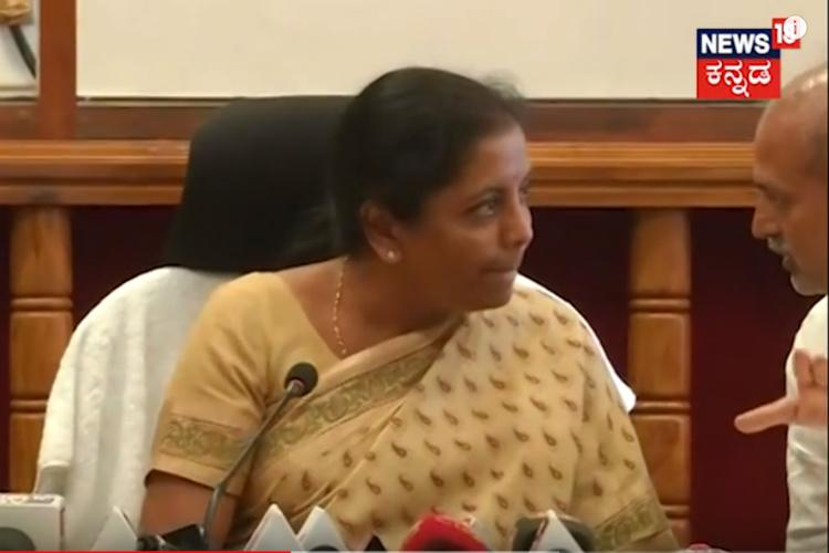 Ktaka leaders condemn Nirmala Sitharaman after her flare-up with state minister