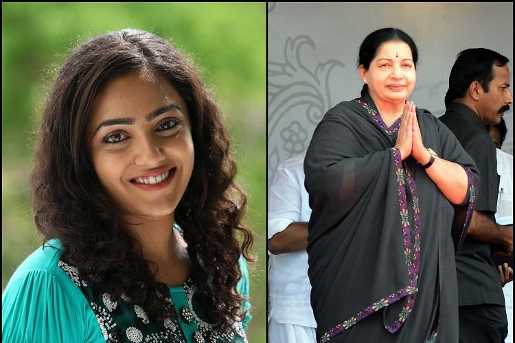 Nithya Menen to play Jayalalithaa in The Iron Lady