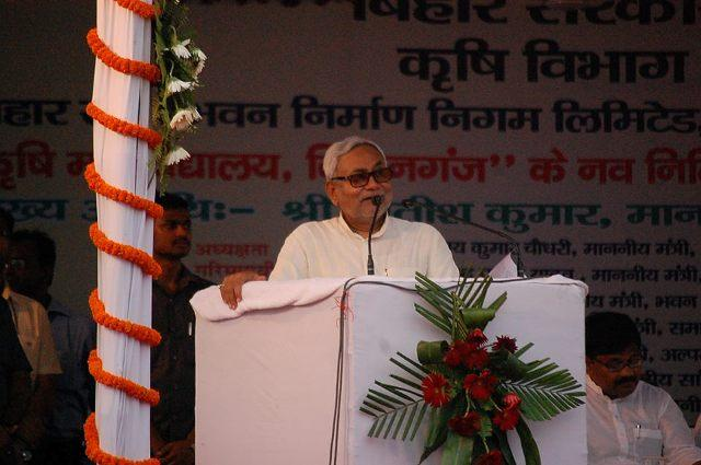Modi defeated over land bill forced to bow down to public pressure Nitish Kumar