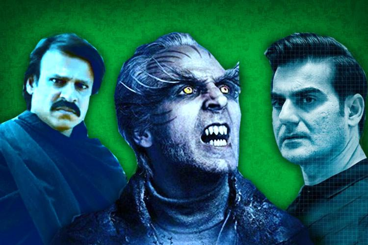 The south film industries obsession with casting Bollywood actors as villain