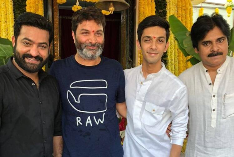 Pawan Kalyan attends launch of Jr NTRs next film