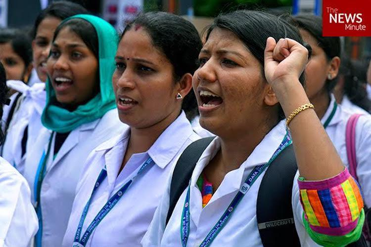 Govt trying to sabotage SC directive Kerala nurses up in arms over pay revision
