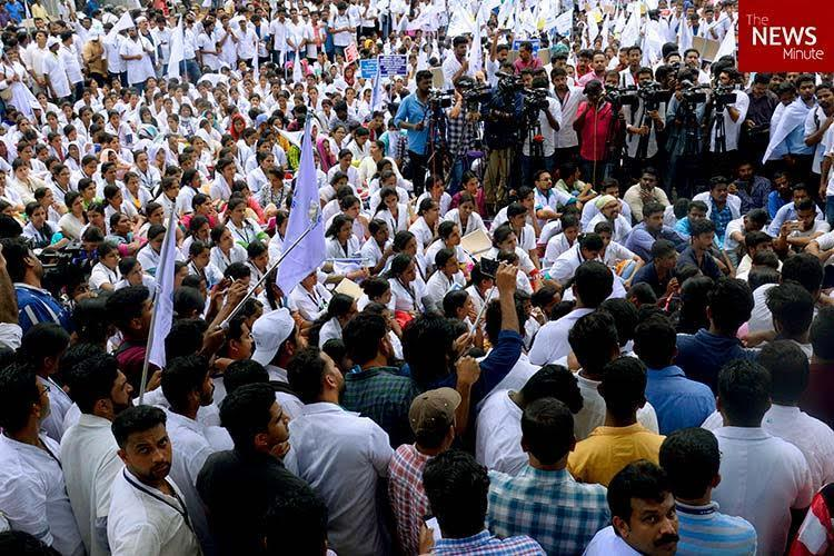 With striking nurses not budging Kerala govt tried to make do with nursing students