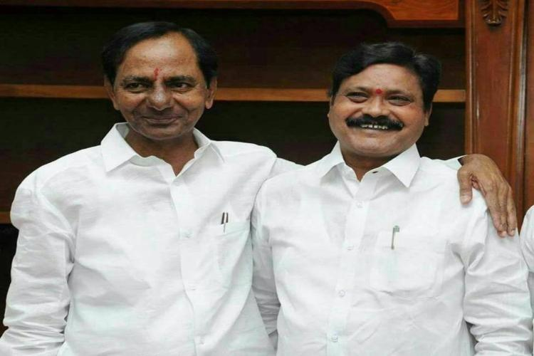 TRS MLA Odelu does a U-turn after mini rebellion now says hes a KCR loyalist