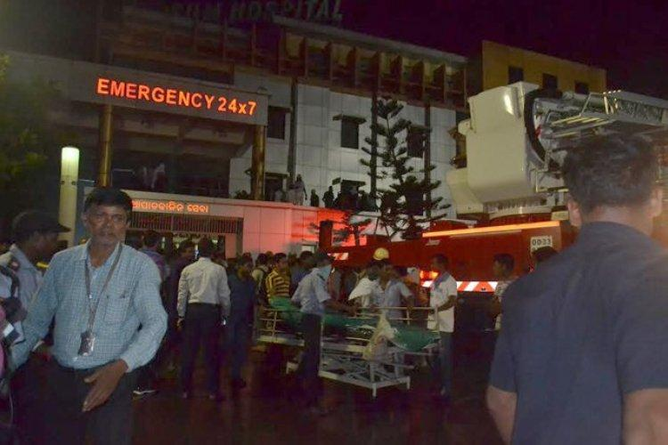 At least 22 killed in major fire at Odisha hospital
