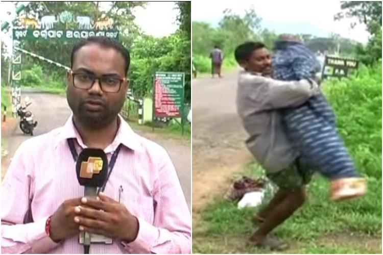 Odisha shocker Reporter didnt just film husband carrying wifes body helped him too