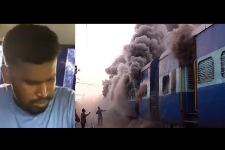 Terrorism or a mentally unstable man setting trains on fire Odisha police wants NIAs help