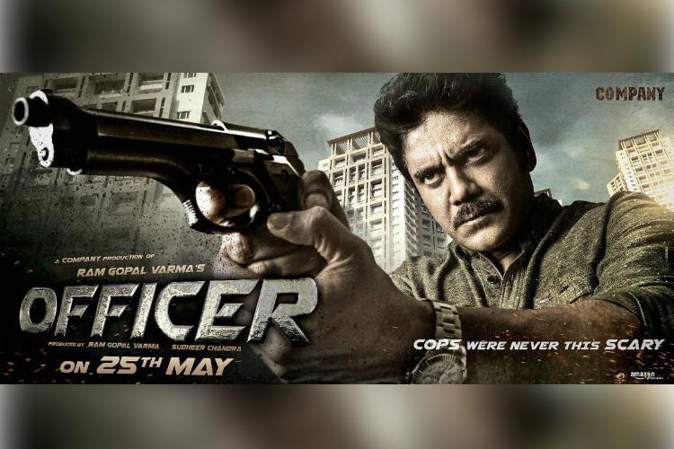 Motion poster for Nagarjuna-RGVs film Officer unveiled