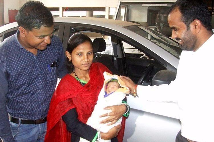 Woman delivers baby in Ola cab gifted five years of free rides