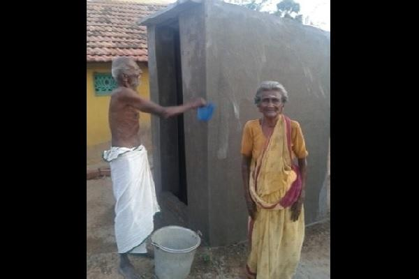 When a 90-year-old couple built a toilet and inspired an entire village
