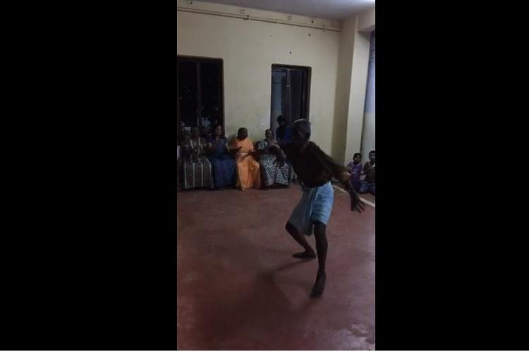 People at relief camps in Kerala set aside grief cheer themselves with dance songs