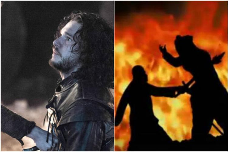 This GoT and Baahubali mashup will blow your mind Jon Snow as Baahubali Daenerys as Sivagami