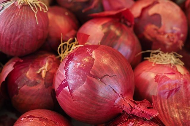 When onions were distributed in Vizag for an Andhra ministers birthday