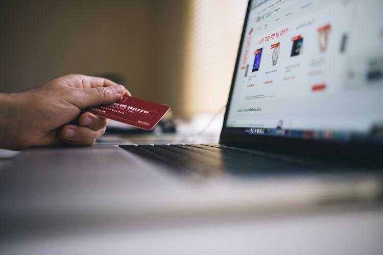 Payment by card while shopping online