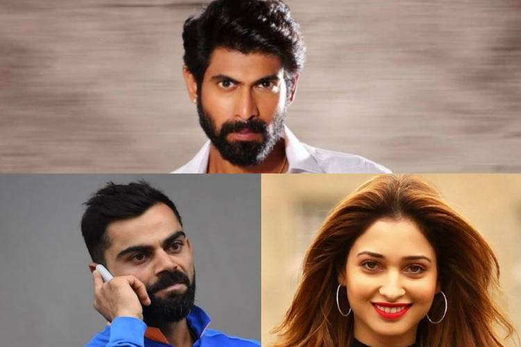 The Madras High Court has issued orders against actors Rana Tamannaah and cricketer Virat Kohli for endorsing online gambling